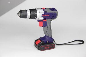10mm mano recargable de Li-ion eléctrico de potencia de motor DC Taladro inalámbrico (CD007)