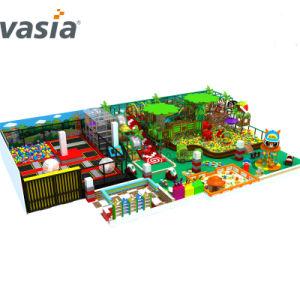 De plastic Binnen Goedkope Commerciële Prijs past de Grote Zachte Speelplaats van Jonge geitjes aan