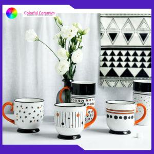 Sérigraphie tasses mug personnalisé en céramique des tasses à café pied tasses