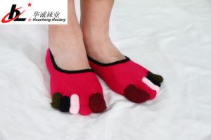 Calzini teenager della caviglia della punta personalizzati colore attraente di alta qualità cinque