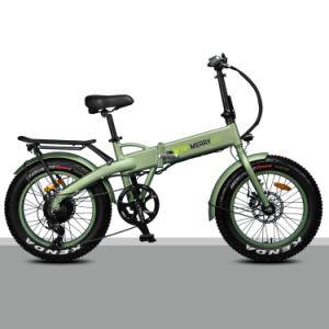 2019 Novo 500W pneu de gordura E-bike Veículo Eléctrico de dobragem mais barato da China ALUGUER DE VEÍCULO