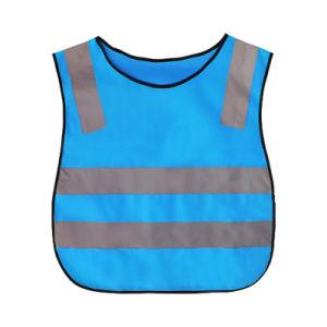 As crianças durável tráfego Aviso de Segurança Vestuário reflector colete reflector