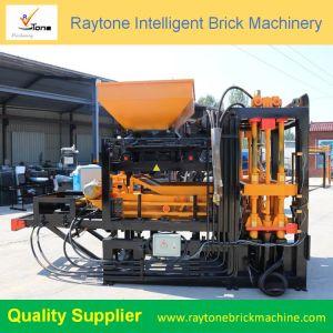 Qt4-18 Finisseurs en briques pleines à bloc creux Strong machine à fabriquer des blocs machine à fabriquer des briques