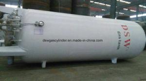 Tanque de Almacenamiento de Líquidos criogénicos Lin Lar/Lco2/LNG con ASME GB aprobado