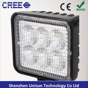 12V 3pulgadas 18W luz LED de trabajo para la iluminación auxiliar Folklift