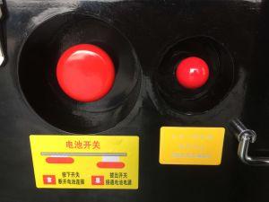 Económico elevador de tijera autopropulsada con el máximo de la plataforma (6m)
