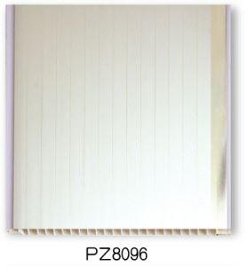 Dessins et modèles artistique moderne de la résine de PVC Salle de bains la tuile de bord (25cm - PZ8096)