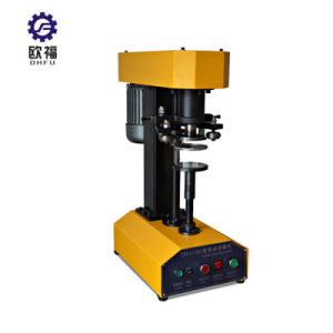 Pequenos aparelhos eléctricos de Metal Máquina de vedação da tampa vedante pode
