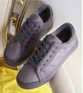 Los encajes de Suede mujer zapatos casual