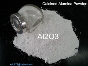 高温電子製陶術のための中国の製造者99.5%の高い純度のか焼されたアルミナ