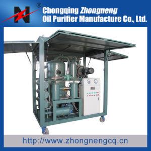 Zhongneng Double-Stage serie Filtración de aceite del transformador de vacío máquina