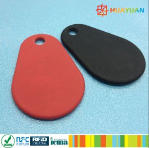 Alta resistenza termica sopra il nylon modellato RFID Keyfob/keychain di HF Ntag216 di ISO14443A