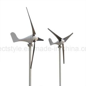 12V 24V 100W/200W/300W/400W générateur à aimant permanent de l'axe horizontal trois lames éolienne