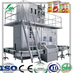 Papel aséptico de jugo de cartón Máquina de Llenado/Leche maquinaria