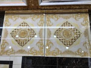 Tegel van de Vloer van het Porselein van de bloem de Patroon Verglaasde