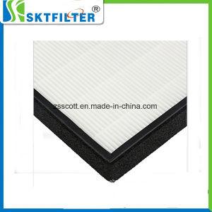 Pó de fibra de vidro a folha do filtro HEPA