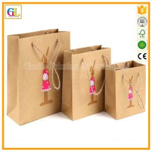 Sacs en papier, un sac de shopping de l'impression (OEM-GL001)