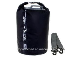 Sacchetto asciutto di campeggio esterno promozionale dello zaino impermeabile del barilotto con la finestra