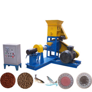 De de drijvende Extruder van de Korrel van het Dierenvoer van de Garnalen van Vissen/Molen die van het Voedsel voor huisdieren Machine maken