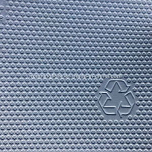 De Sporten die van pvc voor Multifunctionele Gem patroon-4.5mm van de Gymnastiek Dikke Hj21303 vloeren