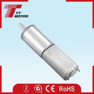 Equipos de estética caja de velocidades de 16mm 12V DC pequeño motor de engranajes