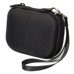 Sac noir résistant aux chocs EVA Cas Sacs à main pour Garmin GPS de golf (FRT2-444)