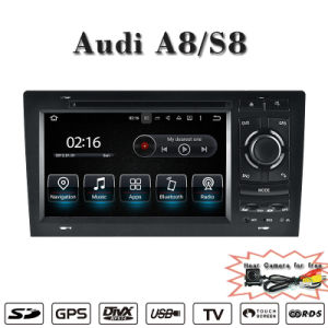 7  Blendschutz (wahlweise freigestelltes) Auto-DVD-Spieler Carplay Audi A8 S8 GPS des Android-7.1 Navigations-Auto Stereo2+16g