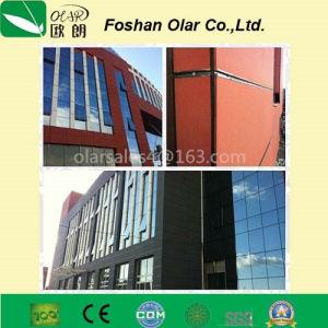 Revêtement de ciment de fibre personnalisé de couleur d'administration