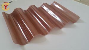 Customed faites PRF lucarne toits de tuiles en fibre de verre coloré de bord