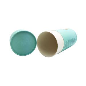 Hermético ecológica café, té, el tubo del cilindro de embalaje Caja de papel