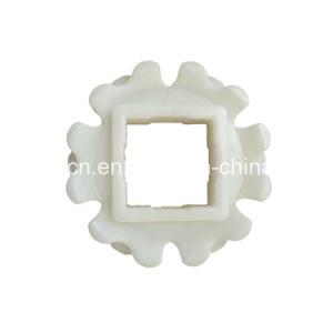 Attrezzo della lamierina di Delrin modellato alta qualità/piccolo attrezzo della ruota dentata più folle della catena del rullo con cuscinetto