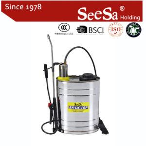 spruzzatore agricolo manuale di pressione di mano dello zaino/zaino dell'acciaio inossidabile 16L per (SX-LK16P)