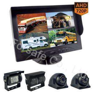 9  Systeem van de Camera van de Auto van de Monitor van het Scherm van de Vierling Rearview