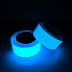 8-10 Gloed van de Kleur van uren de Blauwe Lichtende in Donkere Photoluminescent Band voor Veiligheid