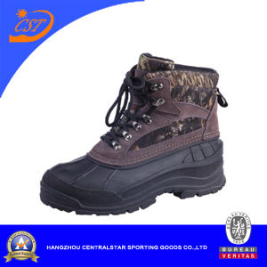 Camuflaje de los hombres los zapatos de cuero Xd-122