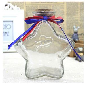 Vider la bouteille en verre transparent Art Craft pour cadeau
