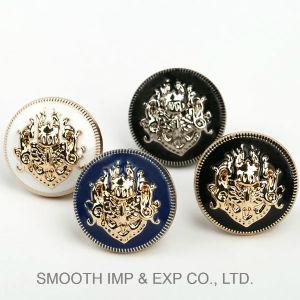 Fermo accessorio della decorazione del hardware del tasto di promozione di modo dell'indumento all'ingrosso del metallo