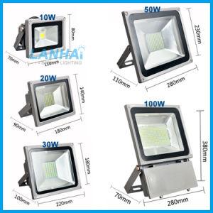 50W LEIDENE van de Vloed van gelijkstroom 12V/24V/36V/48V/60V Openlucht Lichte IP65 Schijnwerper