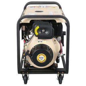 5kw gemakkelijk om de Diesel Generator van de Lasser in werking te stellen