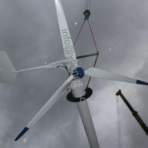2018 nova turbina eólica gerador de Íman Permanente 2KW