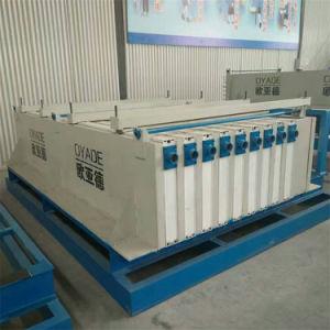 Fácil Instalação Produtos prefabricados de betão de cimento máquina de laje de núcleo oco