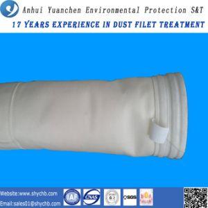 Filtro de saco acrílico sentido agulha da boa qualidade para a planta do cimento