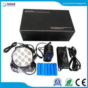 Producto nuevo! 12X6W LED de alta potencia más brillante lámpara UV