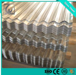 Strato d'acciaio galvanizzato tuffato caldo delle mattonelle di tetto del grado 0.2mm di SGCC