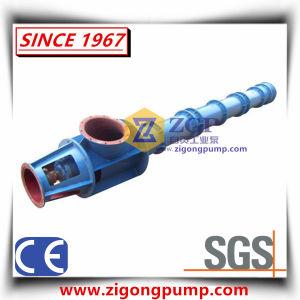 Pompa lunga verticale della turbina dell'asse di rotazione dell'asta cilindrica, pompa centrifuga sommersa dell'acqua chimica, pompa sommersa dei residui del pozzo del pozzetto, pompa semisommergibile Cina