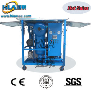 De alto vacío transportable de reciclaje de aceite aislante purificador de aceite de transformadores