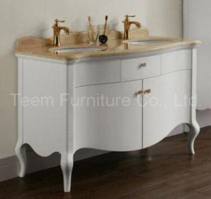 Salle de bains en bois massif de la vanité moderne pour la vente du ...