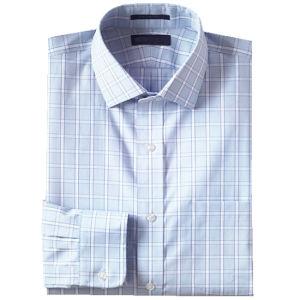 El patrón de ajuste personalizado de los hombres de hierro No Propagación cuello Camisa de vestir