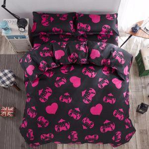 2017新しいデザイン安いMicrofiberファブリックホーム織物の寝具セット