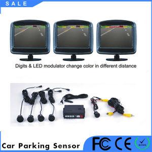 다채로운 LCD 디스플레이 차 경보 초음파 센서 주차 시스템